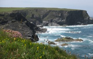 cliff top walk cornwall