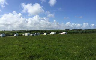 Tregavone caravan site