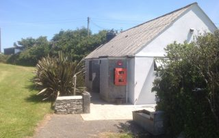 Tregavone shower & toilet block